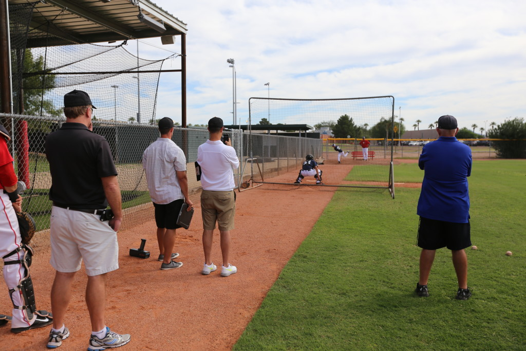 College Coaches scout the 2015 Showcase at Glendale College