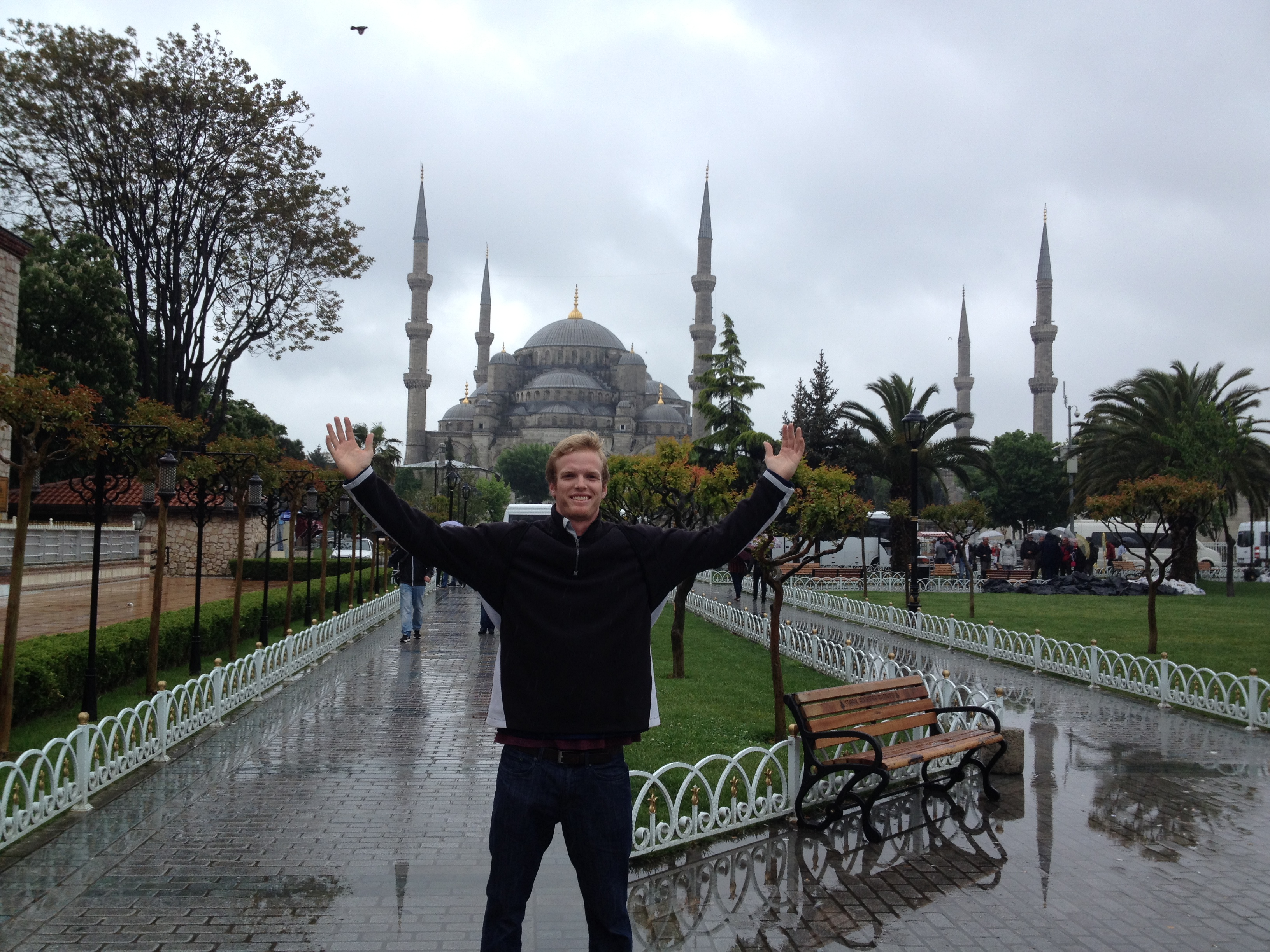 Jack in Istanbul Turkey, his favorite destination
